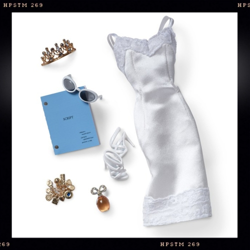 Elizabeth Taylor White Diamonds Silkstone Barbie 1