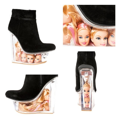 Jeffrey-Campbell-Black-Suede-Lucite-Barbie-Doll-Head-Icy-Wedge