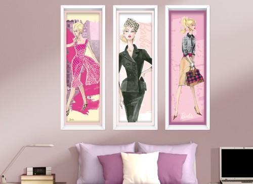 barbie-framed-art-wall-decal-r1