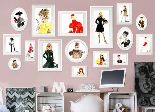 barbie-framed-fashion-design-wall-decal-r1