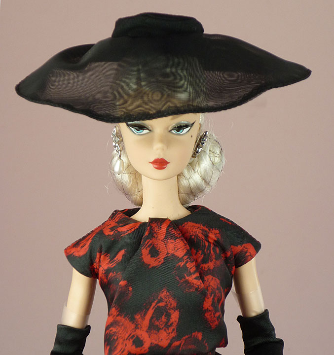Elegant Rose Cocktail Dress Silkstone Barbie