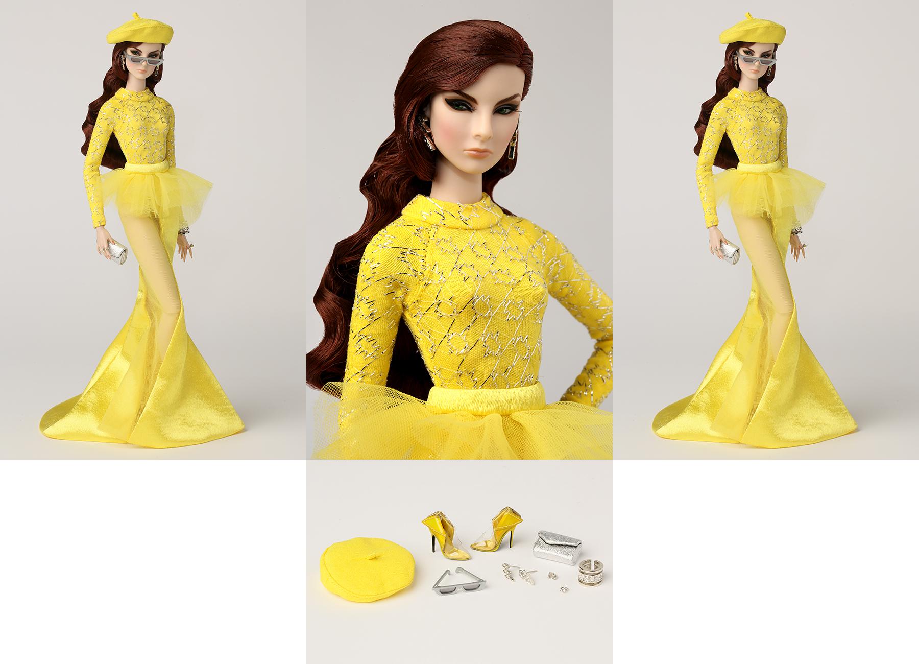 2018 Evening Dresses Fashion Royalty Doll